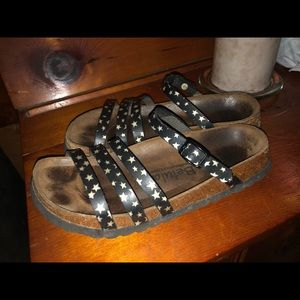 Betula Strappy Star Sandals